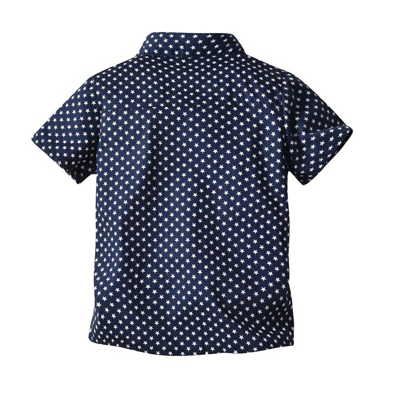 Dos de la chemise bébé garçon