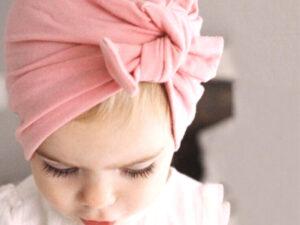 Bandeau bebe enfant fille original colorie au choix
