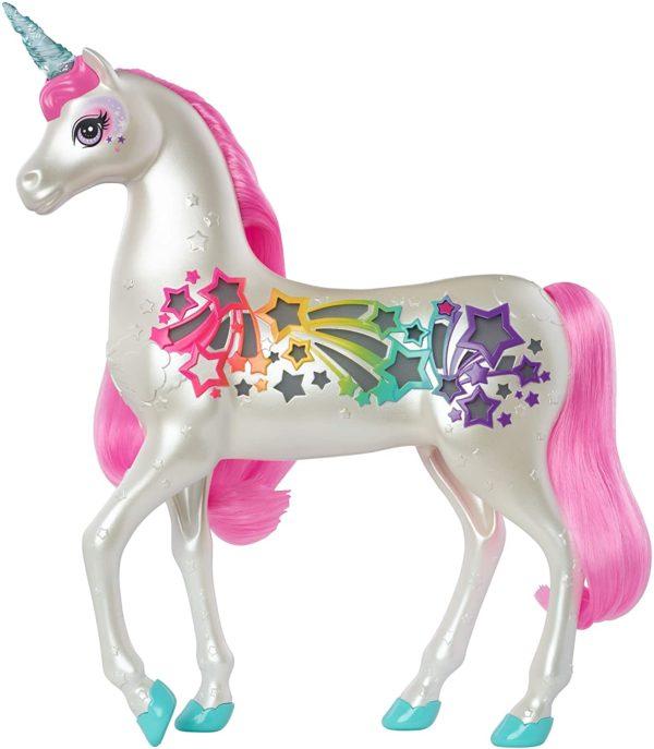 Barbie Dreamtopia Licorne Arc-en-ciel sons et lumières