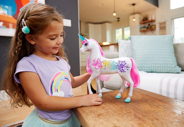 Jouet licorne Barbie