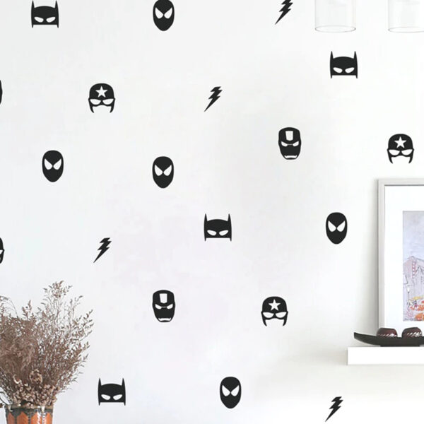 Sticker mural Super-héros - Déco chambre garçon