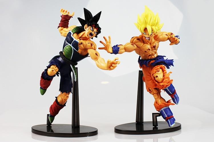 Figurines Son Goku et Bardock